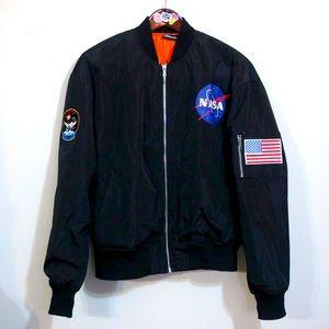 NASA spacestation thin puffer fall jacket